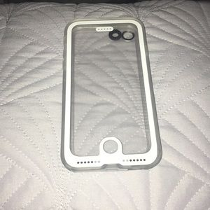 iphone 7-8 clear waterpoof case